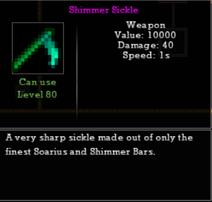 Shimmer Sickle