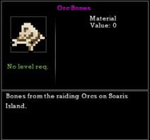 Orc Bones
