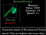 Biosteel Hatchet