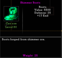 Shimmer Boots