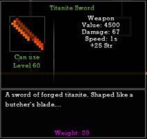 Titanite Sword