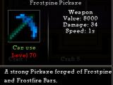 Frostpine Pickaxe