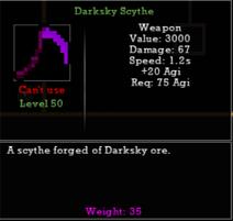 Darksky Scythe