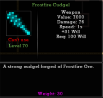 Frostfire Cudgel