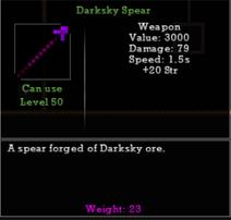 Darksky Spear