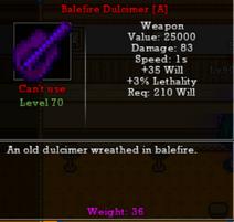 Balefire Duclimier