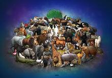 Interlocking animals by bobbybobby85-d5ejwx8