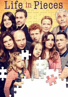 Life in Pieces (S3) poster