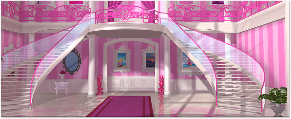 Dreamhouse Foyer | Barbie: Life in the Dreamhouse Wiki | FANDOM ...
