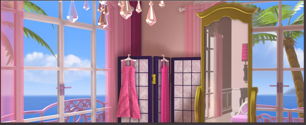 The Barbie Bedroom