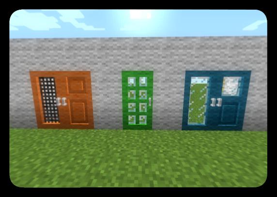 Carpenter's Door | Life In The Woods (Minecraft Modpack