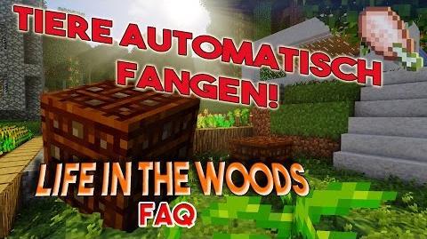 LIFE IN THE WOODS Tierfalle! Die Animal Trap machts möglich - Minecraft FAQ