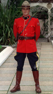 Uniform of the Royal Canadian Mounted Police