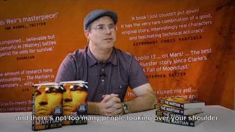 Andy Weir, author of The Martian, on his new novel Artemis