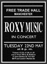Roxy Music Ad