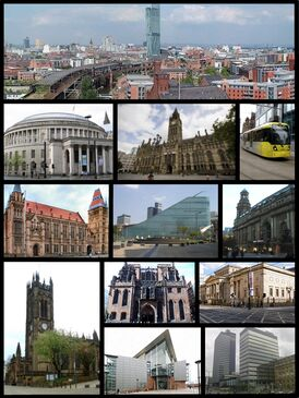 Manchester Bordered Montage