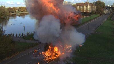 Car-explosion