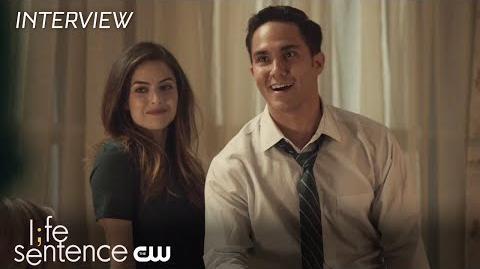 Life Sentence Brooke Lyons and Carlos PenaVega Interview The CW
