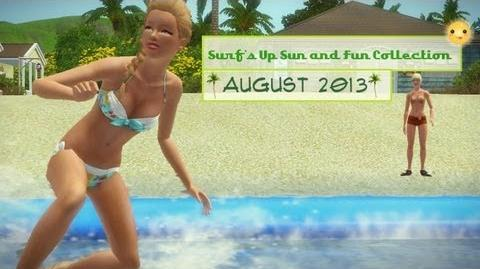Sims 3 Store Surf's Up Sun and Fun Collection Overview Review