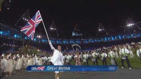 Athletes Parade at the Opening Ceremony - London 2012 Olympic Games