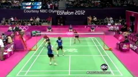 London 2012 Badminton 8 Players Disqualified