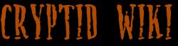 Cryptid Wiki Wordmark