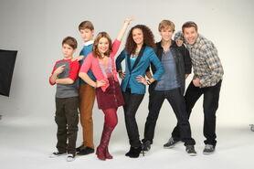 Life with Boys Season 2 Group