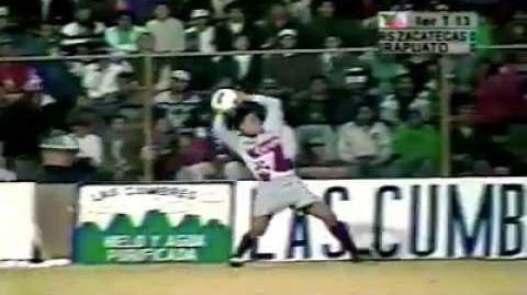 Real Sociedad Deportiva de Zacatecas vs Irapuato Cuartos de final Inverno '97 parte 1