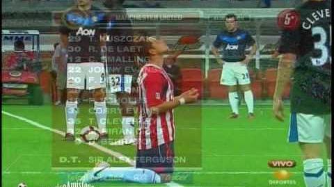Chivas Guadalajara vs Manchester United 3-2 AMISTOSO Inauguracion Estadio Omnilife 30 07 10