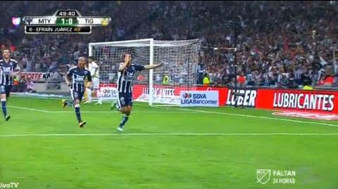 Monterrey vs Tigres 1-0 Liga MX 2016 Gol Efrain Juarez Jornada 9 HD
