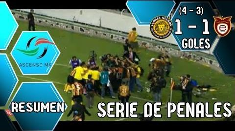 Leones Negros vs Estudiantes 1-1 Penales (4-3) Gran Final por el Ascenso 2014 (10-05-2014)