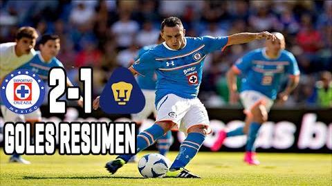 CRUZ AZUL VS PUMAS 2-1 GOLES Y RESUMEN Jornada 9 Apertura 2015 Liga MX
