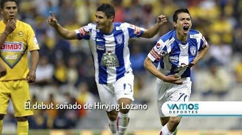 El debut soñado de Hirving Lozano - Su 1er gol en Primera División
