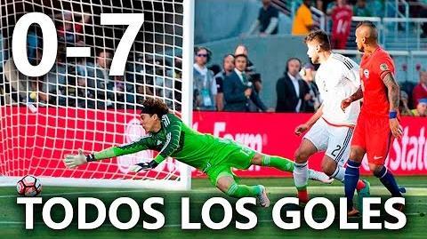 México vs Chile 0-7 RESUMEN & GOLES HD México 0-7 Chile 2016 HD