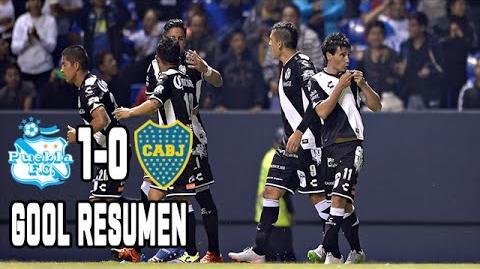 Puebla vs Boca Juniors 1-0 Gol Resumen Remodelación 2015