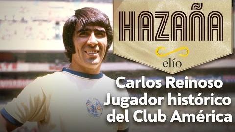 Carlos Reinoso. Jugador histórico del Club América