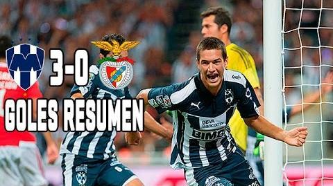 Monterrey vs Benfica 3-0 GOLES y RESUMEN Inauguración Nuevo Estadio del Monterrey 2015