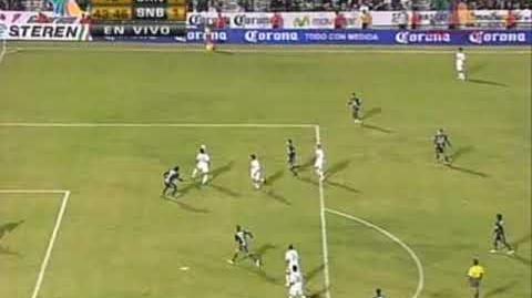 Santos Laguna - Santos de Brasil goles de Yea y Carlos Ochoa.wmv