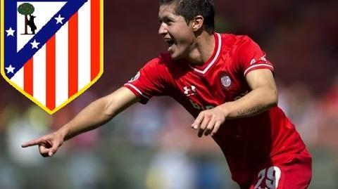 Diego Gama - Goles con Toluca - Bienvenido al Atlético de Madrid B