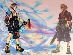 Shuyin and tidus 2