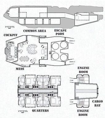 Traveller deck