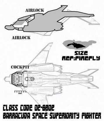 Barracuda Deckplan