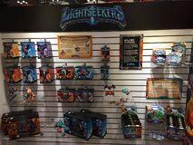 Lightseekers toy display