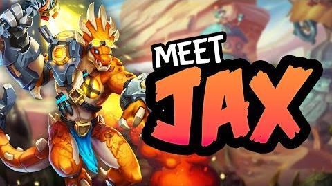 Seeker Spotlight Jax the tyrax