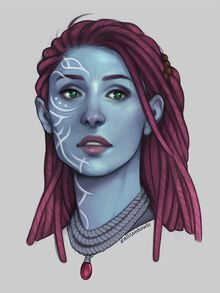 Blue Mother