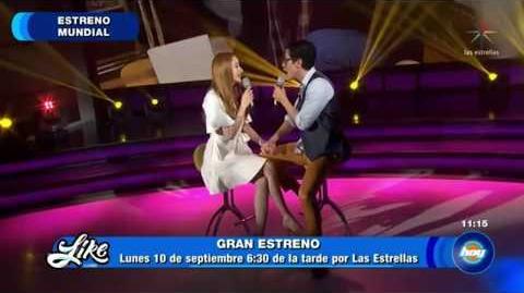 Christian Chavez y Cecilia de La Cueva - Dejame Amarte -LikeLaLeyenda