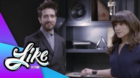 ¡Humberto prohibe la música en Like! - Like la leyenda - Televisa