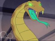 Spuki als Schlange