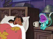 Belle waking Nani up