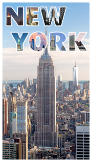 New York travel book cover